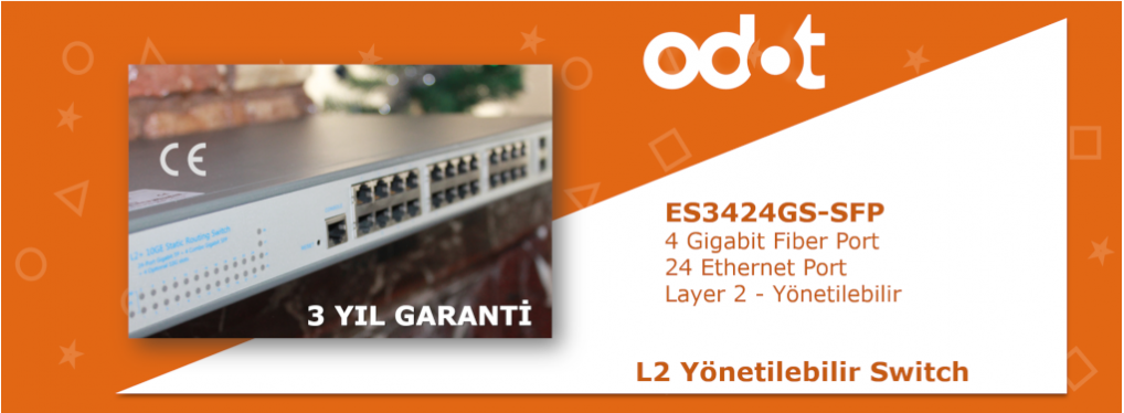 L2 Level Yönetilen Endüstriyel Ethernet Switch