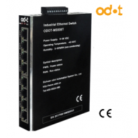 8 Portlu Endüstriyel Ethernet Switch MS508T