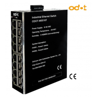 16 Portlu Endüstriyel Ethernet Switch MS516T