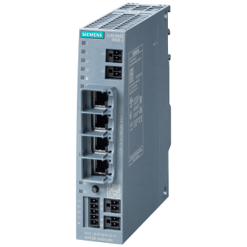 SCALANCE M826-2 SHDSL router; for the IP communication via 2-wire and 4-wire cables from Ethernet-based Programmable controllers; SHDSL topology: Point-to-point